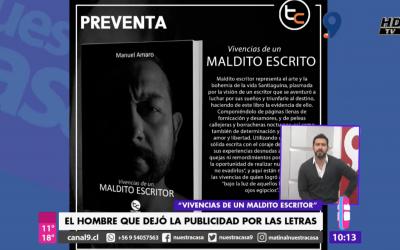 Entrevista sobre Vivencias de un Maldito Escritor en Canal 9